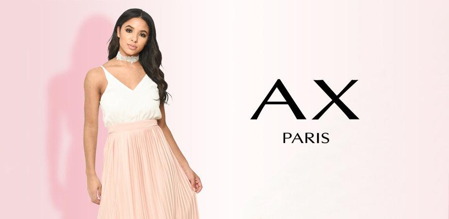 AX Paris: Růžová, modrá, černá