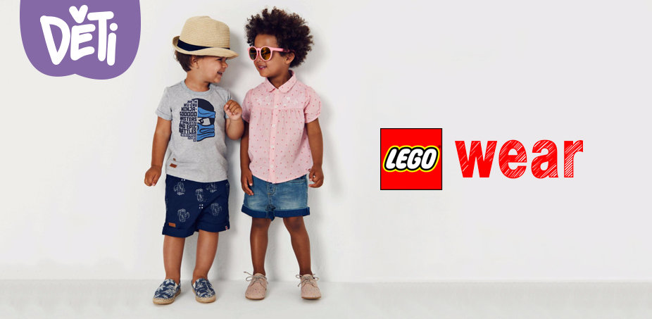 LEGO Wear: Hvězdné války, Ninjago, Friends