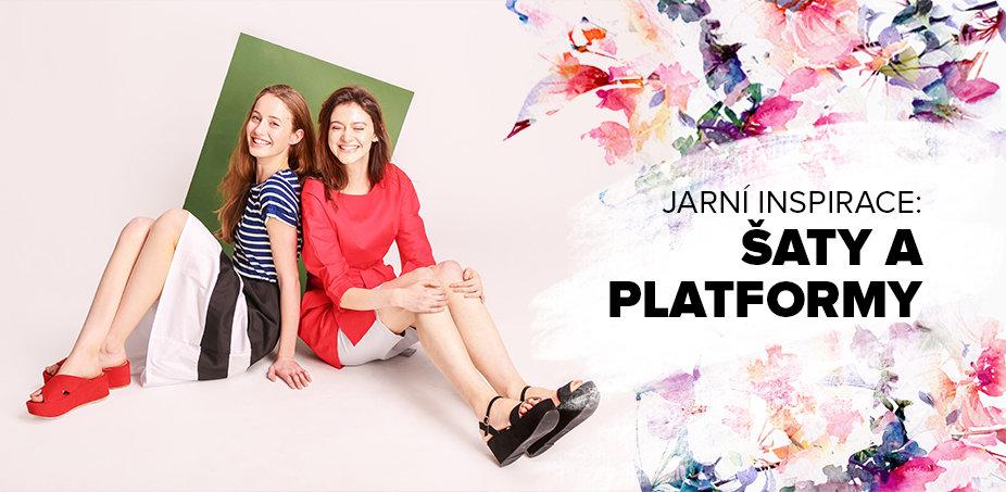 Šaty + platformy = léto ♥