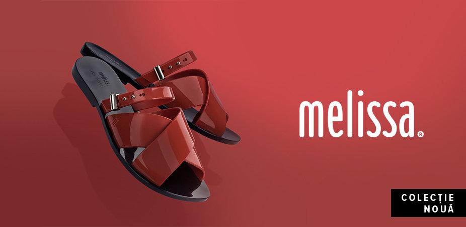 Melissa: Pantofi cu parfum de vară