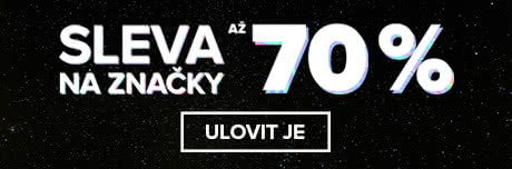 Sleva na značky až 70 %