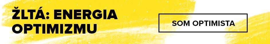 V žltej som optimista!