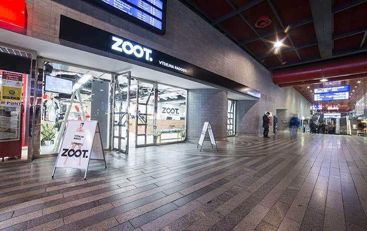 Výdejna radosti ZOOT - Praha, Hlavní nádraží