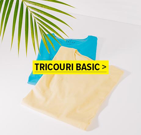 Tricouri basic