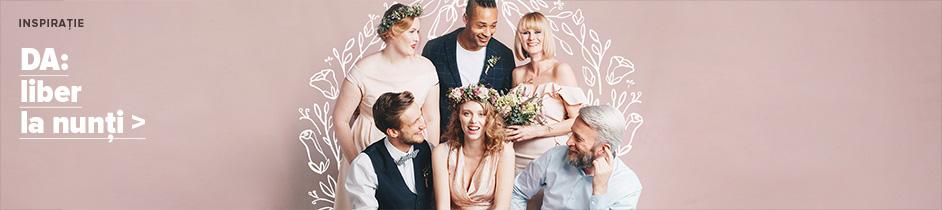 DA: liber la nunti!