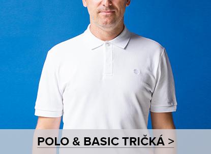 Polo a basic tričká ♂