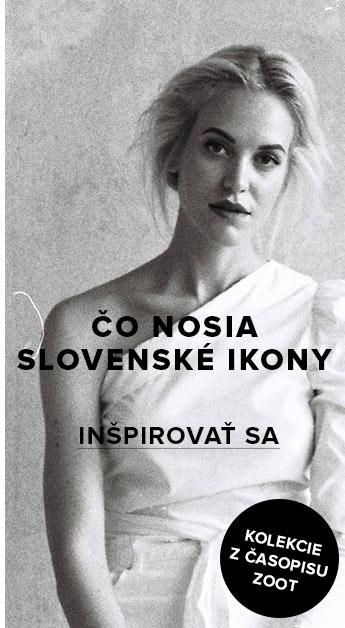 Ikonické šatníky mladých slovenských ikon