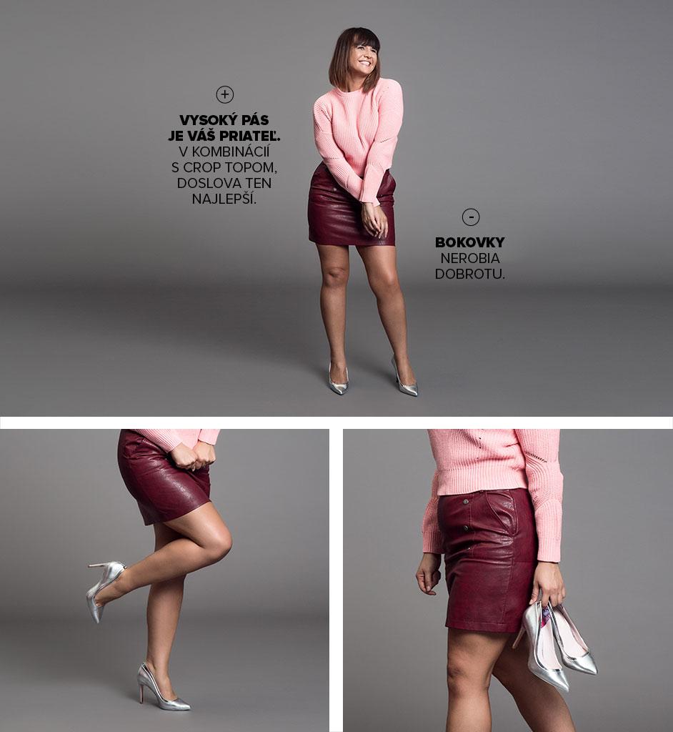 (Sk)ladné krátké nohy