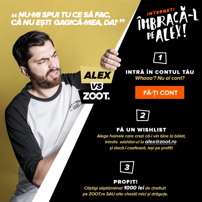 Imbraca-l pe Alex