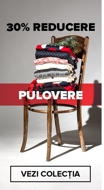 30% reducere la puloverele tale preferate