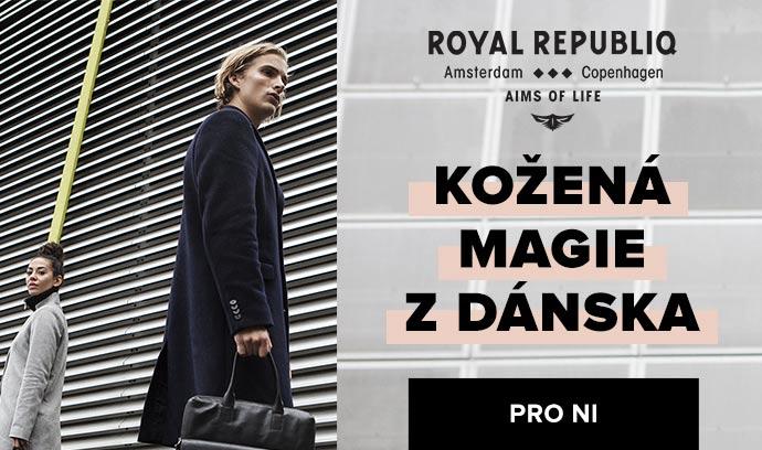 Royal RepubliQ: Kožené doplňky na úrovni ♀