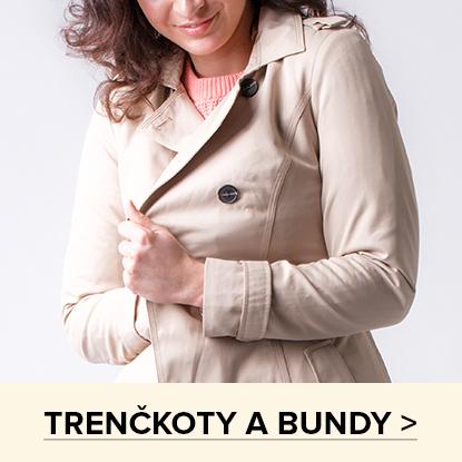 TRENČKOTY A BUNDY >