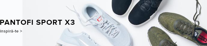 Pantofi sport x 3