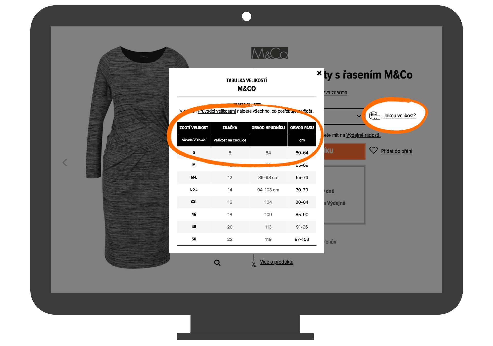 Jak měřit míry anebo průvodce velikostmi  cb55da1a8b