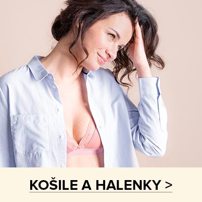 KOŠILE A HALENKY >