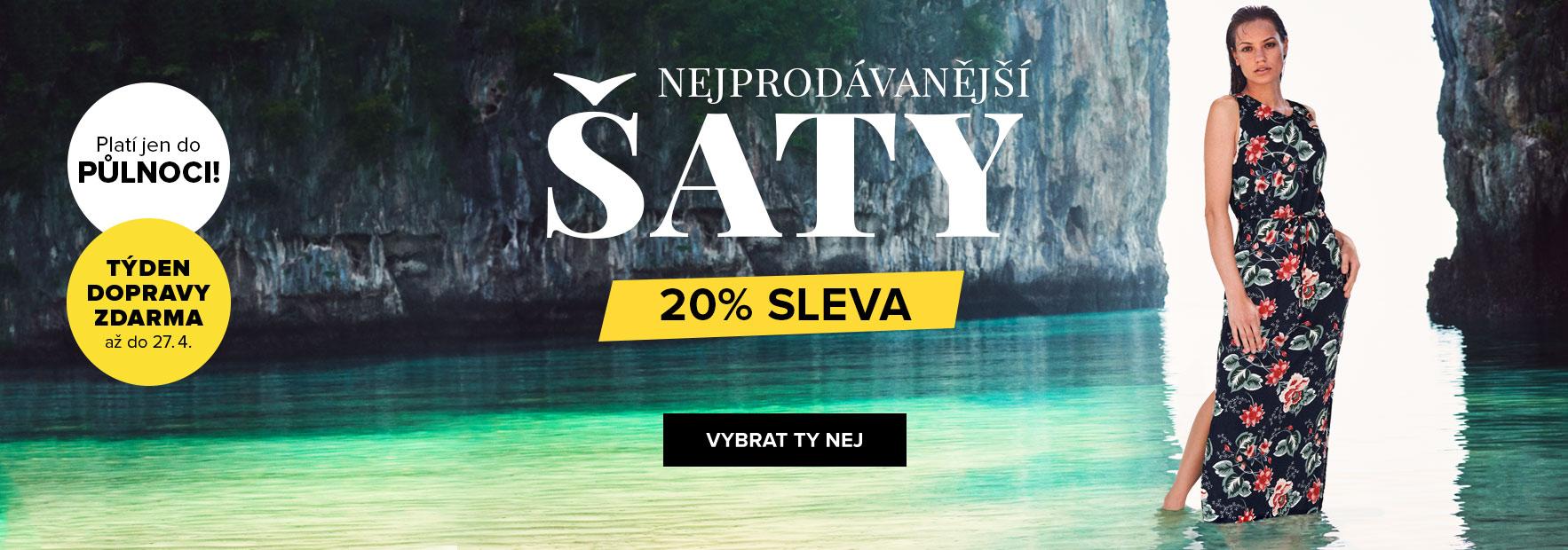 week 16_Sleva_20%_saty_nejprodavanejsi_saty