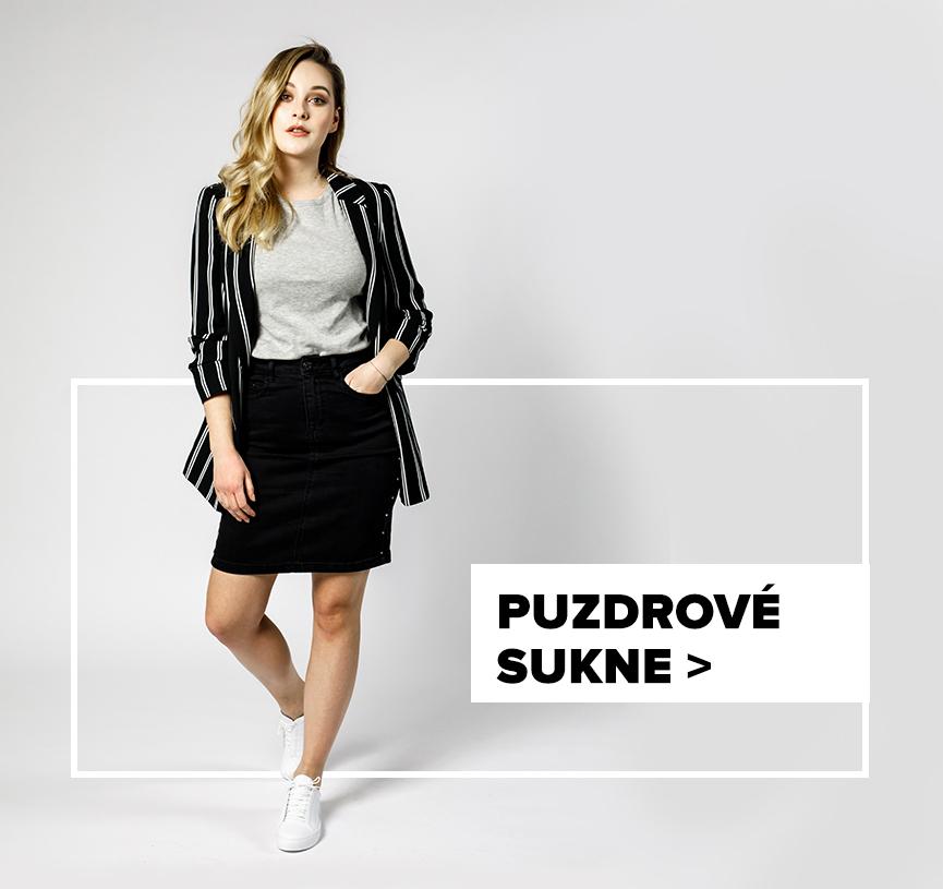 Puzdrová sukňa  - outfit na postave