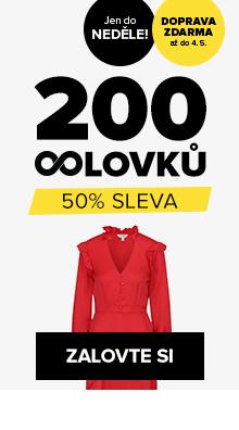 200 OOlovků s 50% slevou