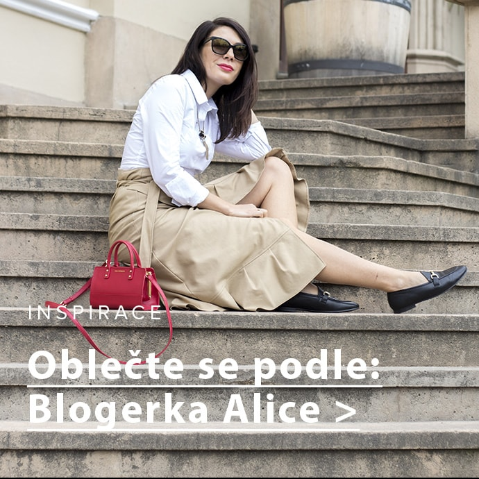 Outfit podle blogerky Alice: Základy šatníku