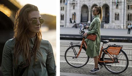 Outfit podle blogerky Elišky: Košilové šaty