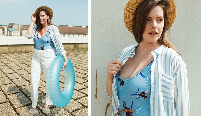 Outfitová inspirace: Z města rovnou na koupák