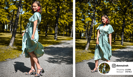 Outfit podle blogerky DonnaIveh