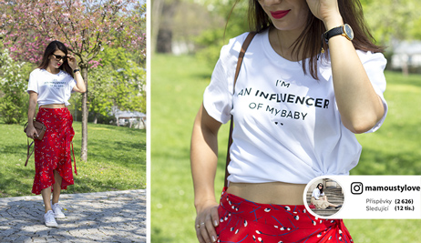 Outfit podle blogerky Alice: Zavinovací sukně