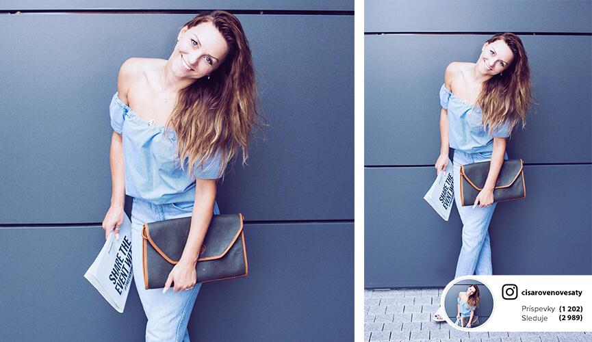 Outfit podľa blogerky Simi / CisaroveNoveSaty