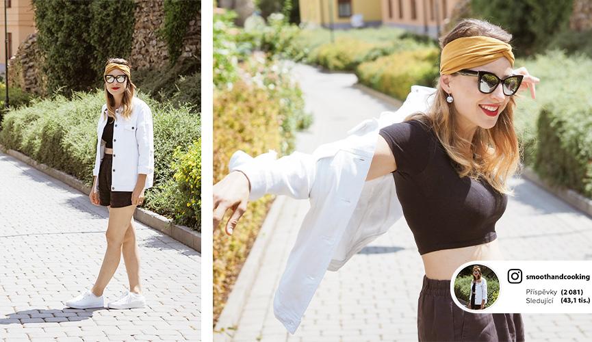 Outfit podle blogerky Kačí