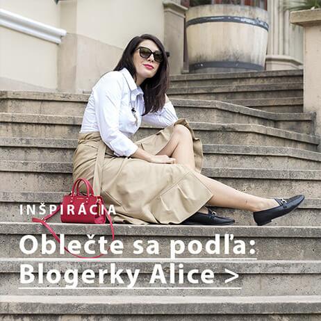 Outfit podľa blogerky Alice