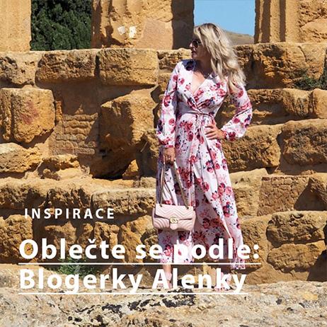 Outfit podle blogerky Alenky - Maxišaty