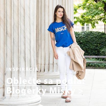 Outfit podľa blogerky Mišky