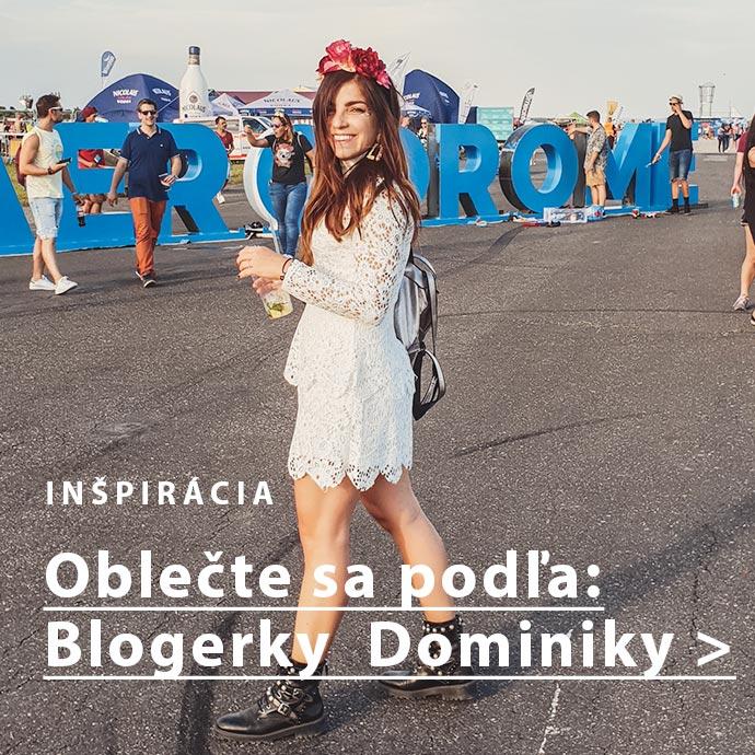 Outfit podľa blogerky Dominiky