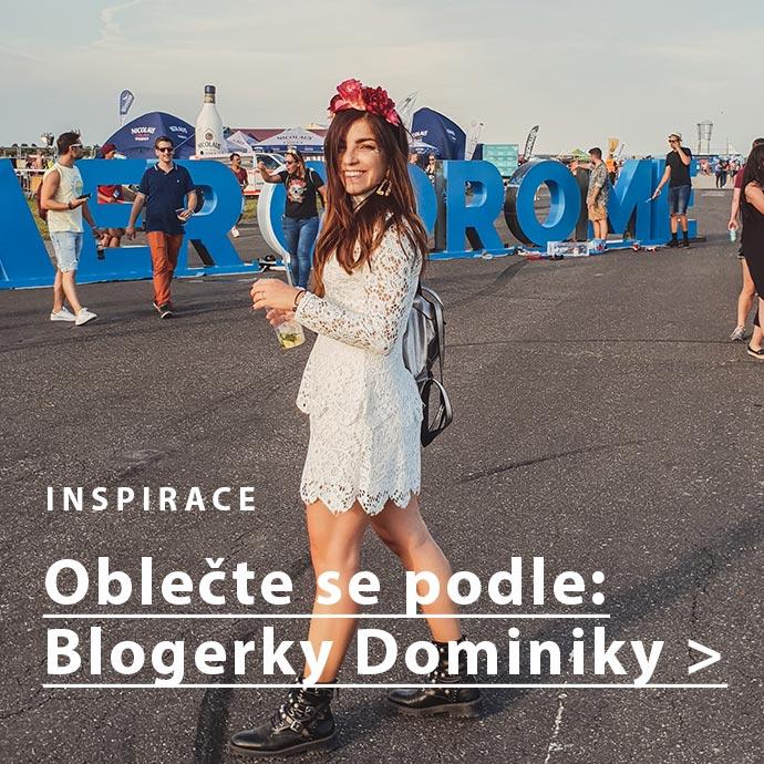 Outfit podle blogerky Dominiky