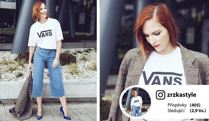 Outfit podle blogerky Zuzky