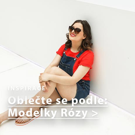 Outfit podle modelky Rózy
