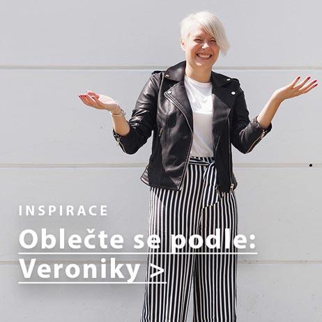 Outfitová inspirace podle blogerky Veroniky