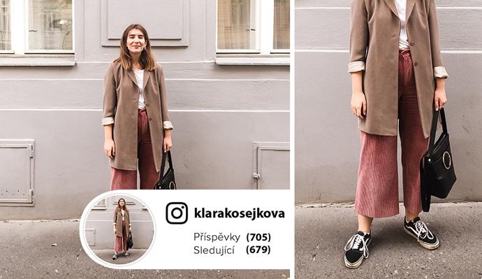 Outfit podle blogerky Kláry