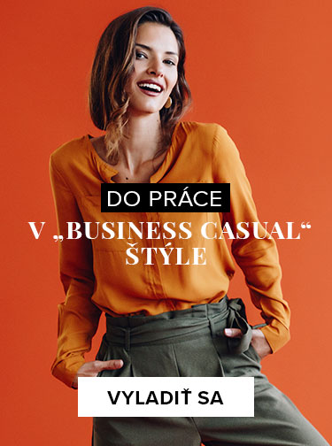 "Do práce v ""business casual"" štýle"