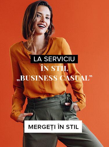 """Ținută de serviciu în stil """"business casual"""""""