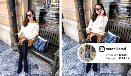 Outfit podľa blogerky Veroniky