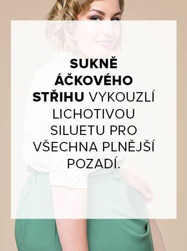 Plus Size TIP | Áčková sukně