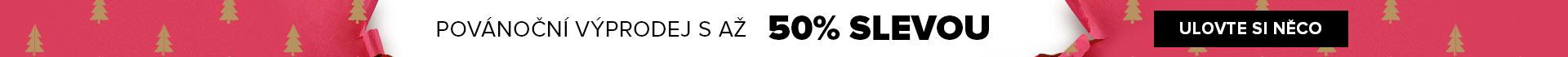 Povánoční výprodej až -50 %