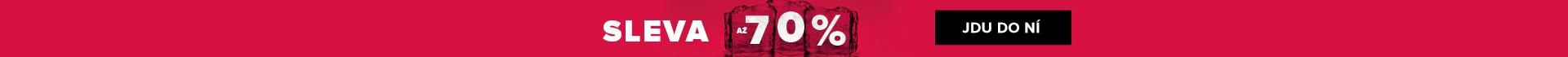 NOVOROČNÍ VÝPRODEJ AŽ -70 %