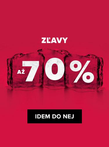 NOVOROČNÝ VÝPREDAJ AŽ -70 %