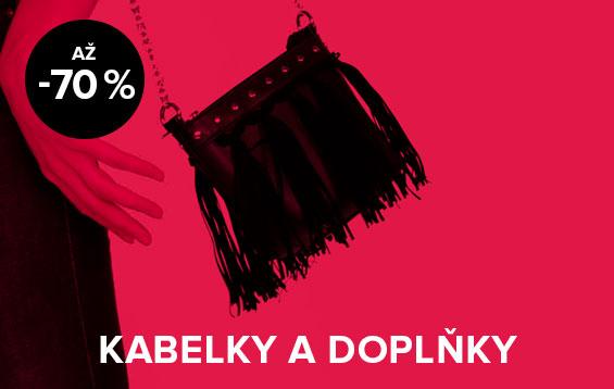 Až 70% sleva na kabelky a doplňky