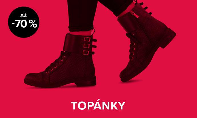 Až 70 % zľava na dámske topánky