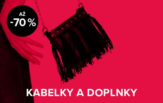 Až 70 % zľava na kabelky a doplnky