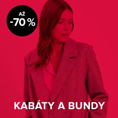 Až 70 % zľava na dámske kabáty a bundy