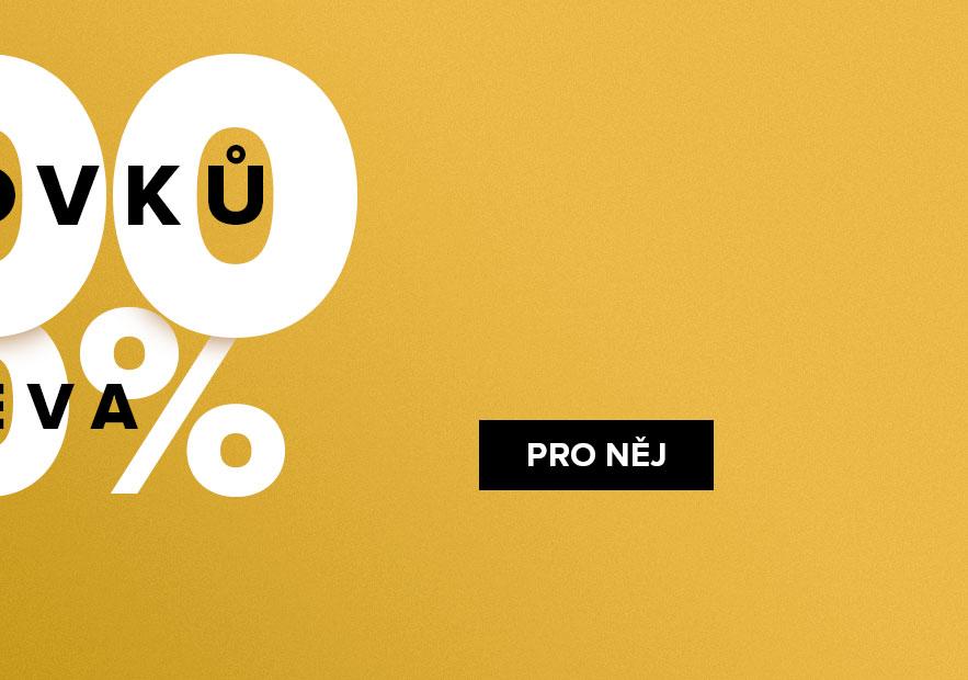 300 Oolovků s 50% slevou PRO NĚJ